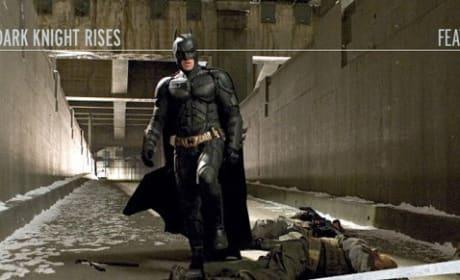 Christian Bale is Batman in The Dark Knight Rises