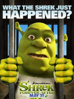 Shrek Forever After What the Shrek Just Happened? Poster