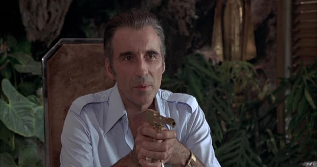 The Man with the Golden Gun Christopher Lee