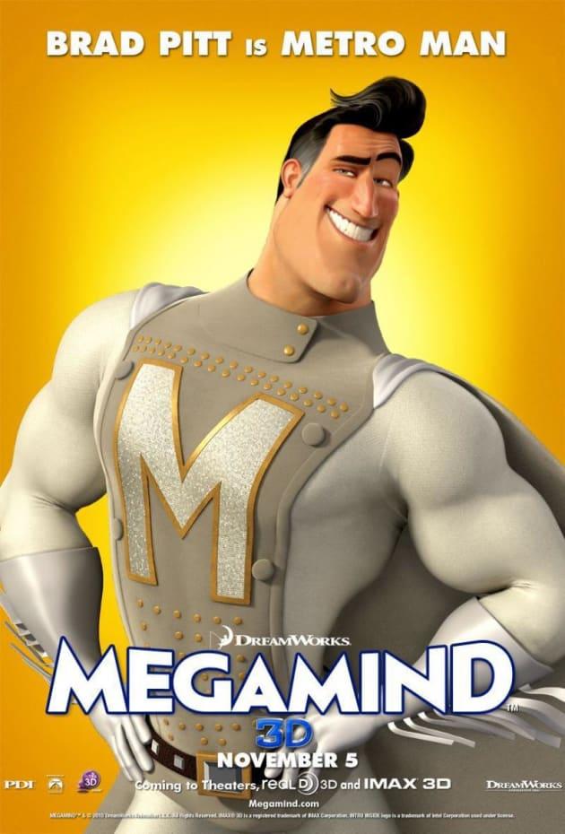 Megamind Metro Man Poster