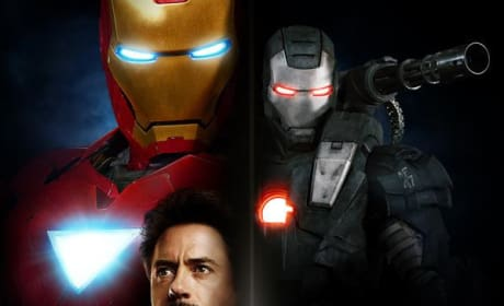 New Domestic Iron Man 2 Poster Leaves Mickey Rourke in the Dark