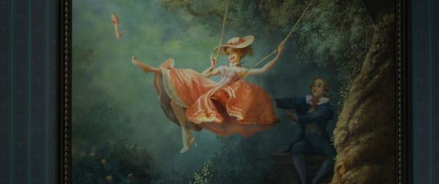 Frozen Swing Painting Photo