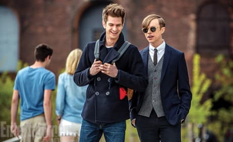 The Amazing Spider-Man 2 Dane DeHaan Andrew Garfield