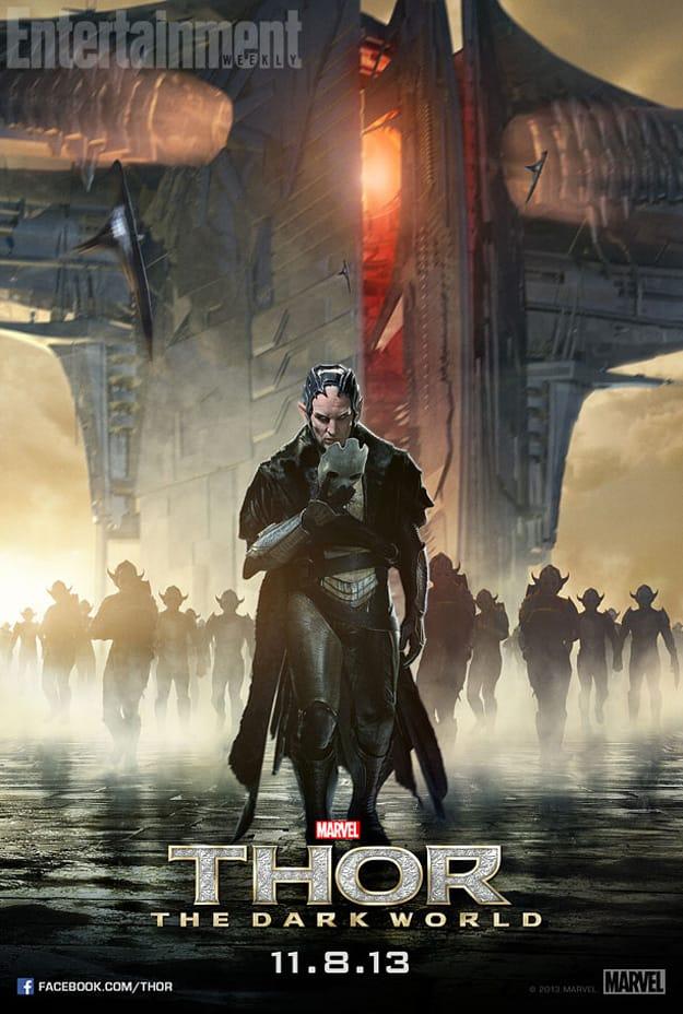Thor The Dark World Malekith Character Poster