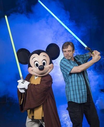 Mark Hamill Disney World Star Wars Weekend Photo