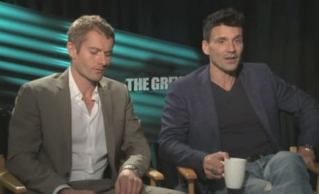 The Grey Exclusive: Frank Grillo and James Badge Dale Deliver Thrills