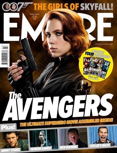 Scarlett Johansson is Black Widow in The Avengers