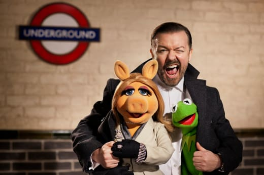 Ricky Gervais The Muppets...Again!