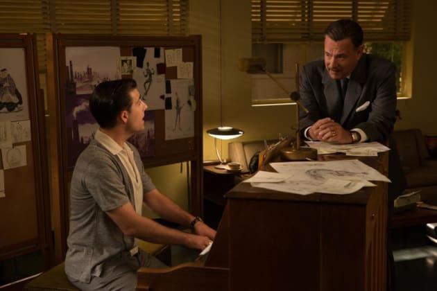 Saving Mr. Banks Jason Schwartzman Tom Hanks