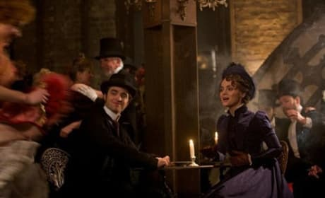 Robert Pattinson and Christina Ricci in Bel Ami