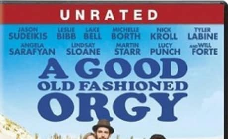 A Good Old Fashioned Orgy Blu-Ray