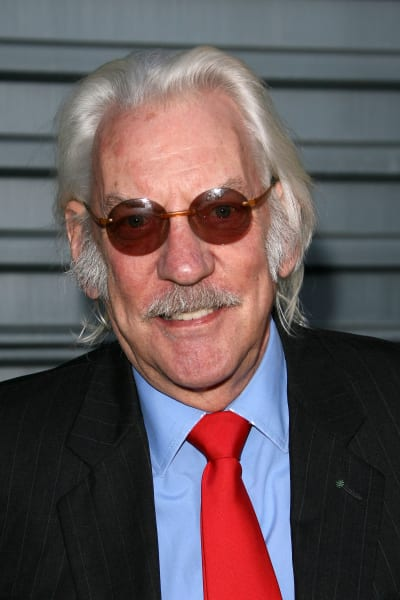 Donald Sutherland Cast in The Hunger Games