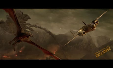 Dragons Chase Planes in Crazy New Sucker Punch Picture!