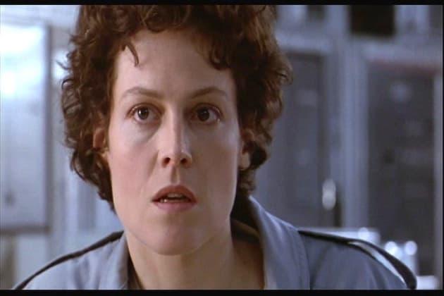 Sigourney Weaver as Ripley in Alien