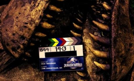 Jurassic World Wraps Production: First T-Rex Photo!