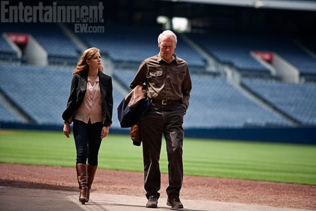 Amy Adams and Clint Eastwood in Trouble with the Curve