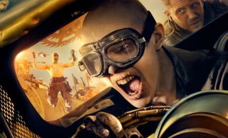 Mad Max Fury Road Nicholas Hoult Character Poster