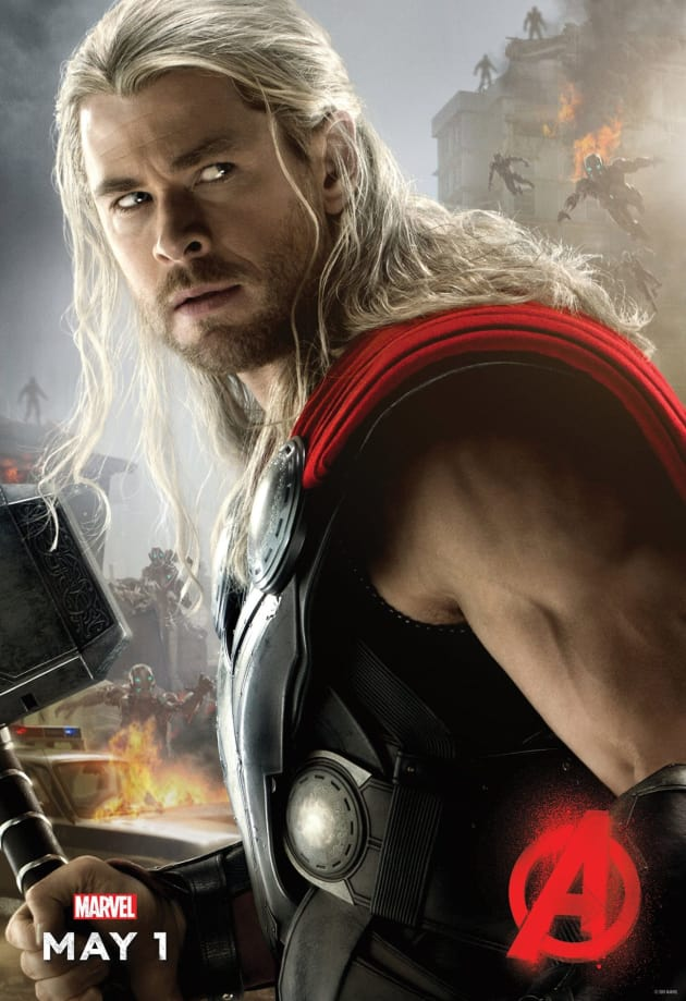 Avengers Age of Ultron Thor Poster