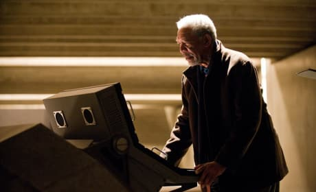 Lucius Fox Dark Knight Rises