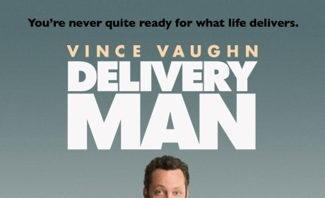 Delivery Man Poster: Vince Vaughn Delivers the Laughs