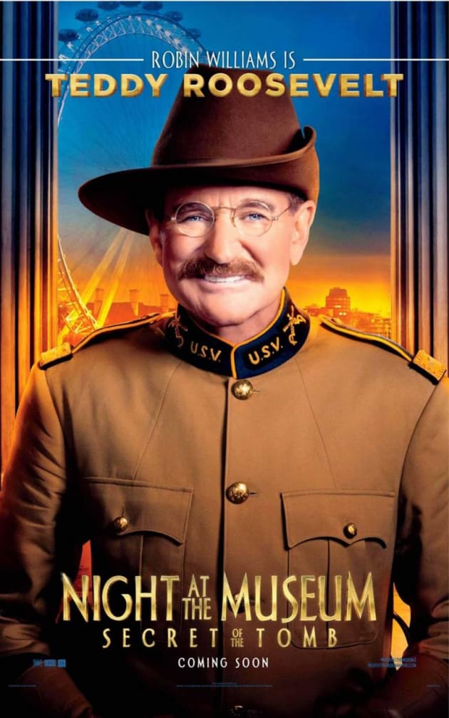 Night at the Museum: Secret of the Tomb Robin Williams Poster