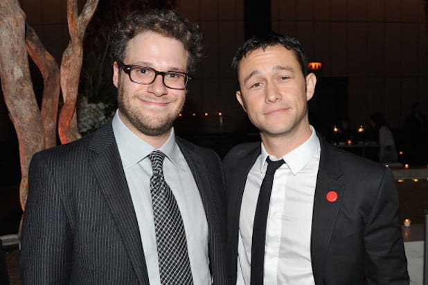 Seth Rogen Joseph Gordon Levitt Photo