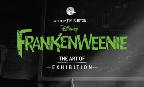 Frankenweenie Art Exhibit to Hit Comic-Con