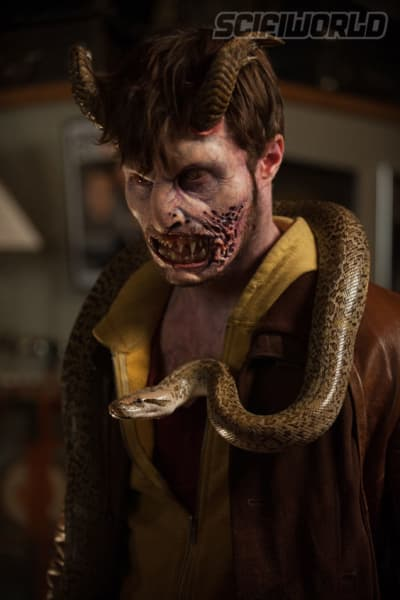 Horns Star Daniel Radcliffe Has Horns