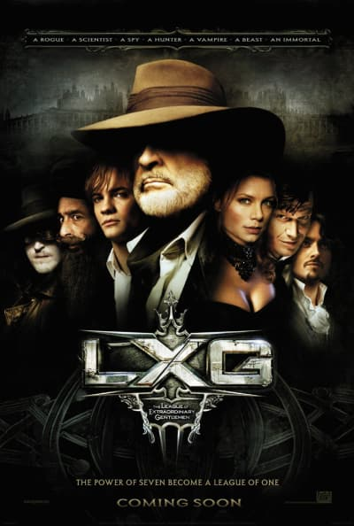 The League of Extraordinary Gentleman Poster