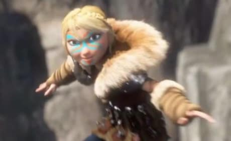How to Train Your Dragon 2 Clip: Is That Quidditch?