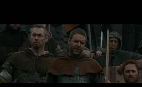 'Robin Hood' Robin Speaks to King John