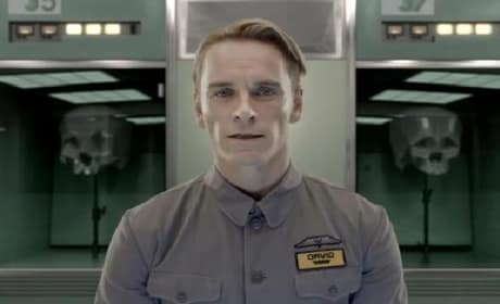 Prometheus Video: Introducing Michael Fassbender's David