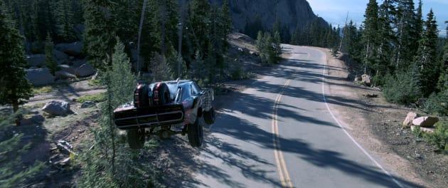 Furious 7 Car Drop Photo