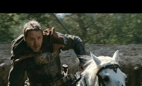 'Robin Hood' Nottingham Fights Godfrey's Intruders