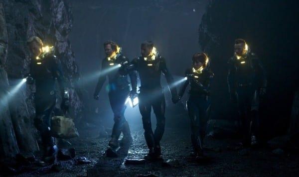 The Cast of Prometheus