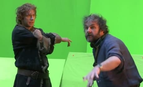 Peter Jackson on The Hobbit: The Desolation of Smaug Set
