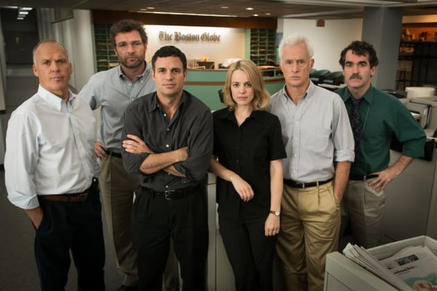 Spotlight Cast Photo