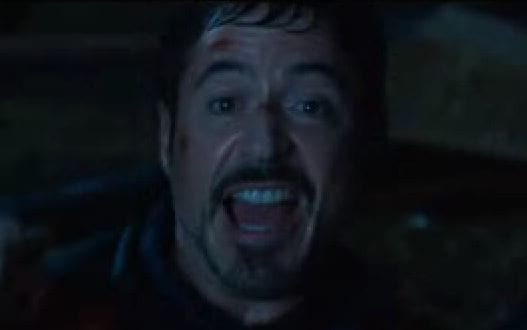 Robert Downey Jr. Iron Man 3 Gag Reel