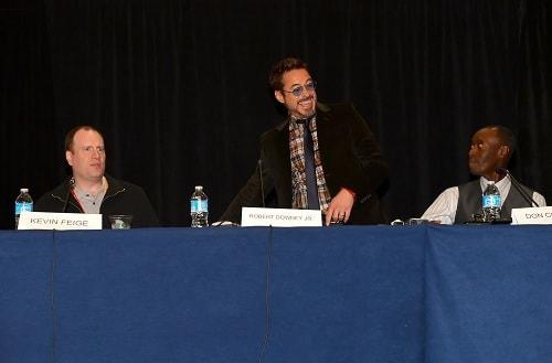 Iron Man 3 Comic-Con Press Conference