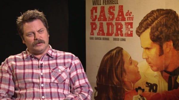 Nick Offerman Interview