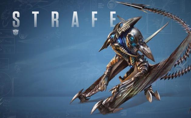 Transformers: Age of Extinction Strafe