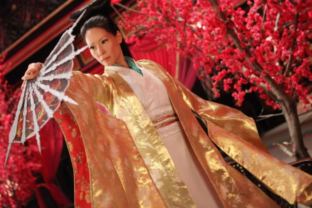 Lucy Liu The Man with the Iron Fists