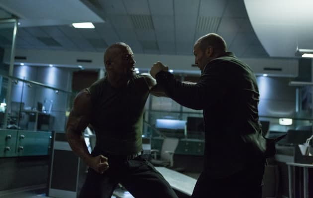 Furious 7 Jason Statham Dwayne Johnson
