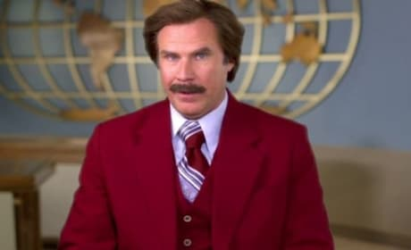 "Anchorman 2: Ron Burgundy Says ""Happy Halloween!"""