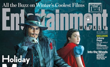 Johnny Depp Into the Woods EW Cover