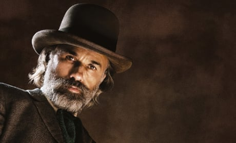 Django Unchained Character Posters: Christoph Waltz Hunting His Bounty