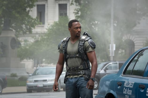 Anthony Mackie is Armed and Dangerous
