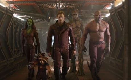 Guardians of the Galaxy Cast Pic