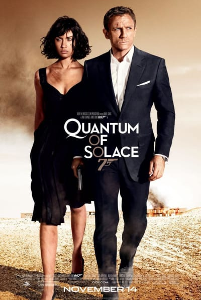 Quantum of Solace Final Movie Poster
