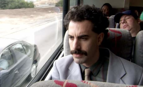 Borat Arrives in America